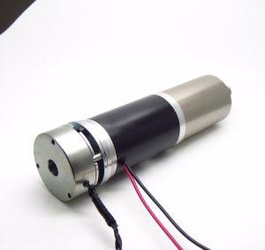 56mm DC Motor reductor con un codificador y freno