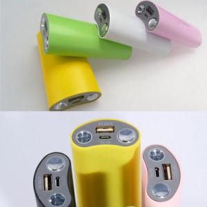 小道具のLEDライトが付いている携帯用充電器の携帯電話力バンク