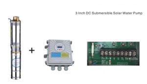 Pompa ad acqua solare di CC di 3 pollici