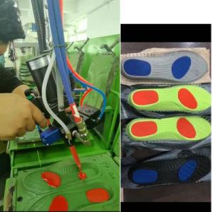 Espuma de baja presión de poliuretano PU suela de zapato de la máquina la máquina