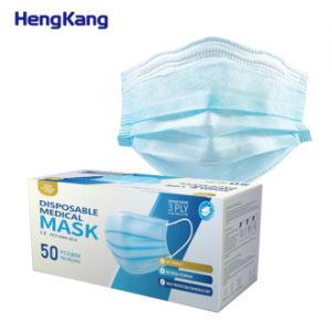 Venda por grosso de máscara de médicos descartáveis de 3 camadas anti poeira não tecidos Mascarilla cirúrgico para as pessoas