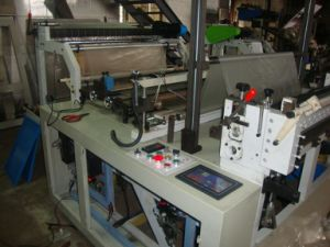 Hitte verzegelen en Koude Scherpe Plain Bag Making Machine