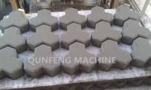 máquina de fabricación de ladrillos de cemento hidráulico automático