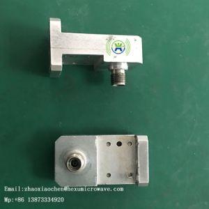 Prato de microondas parabólico adaptador de guia do sistema