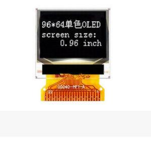 Graphique OLED 0,96''Cog petit affichage personnalisé numérique pour la maison d'application de l'écran du moniteur