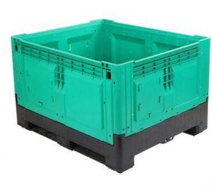 Grade de forte grande caixa de contêiner de paletes plásticos