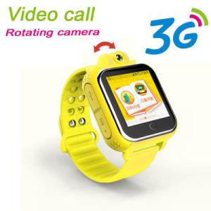 Perseguidor video androide del reloj del GPS de la llamada 3G para los cabritos