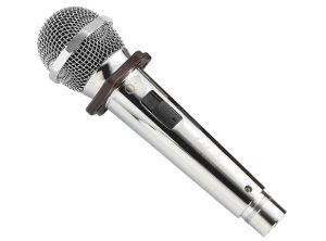 De getelegrafeerde Handbediende Draagbare Microfoon van de Karaoke met Telefoon werken/Tablet PC/Computer die in Doos als Gift van de Terugkeer van het Huwelijk wordt ingepakt die