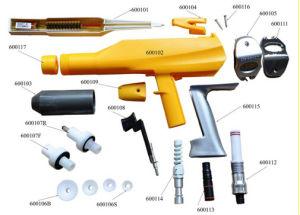 De hand Uitrusting van de Machine van de Deklaag van het Poeder met Pistool