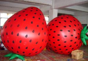 De adverterende Opblaasbare Ballon van de Aardbei van de Appel van de Banaan van de Ananas van het Fruit