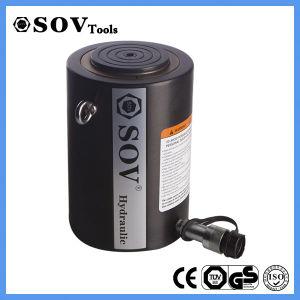 Cilindro idraulico a semplice effetto tonnellaggio poco costoso caldo di vendita di alto (SOV-CLSG)