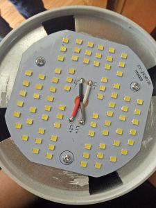 20W 30W 40W 50W lâmpada LED de alta potência