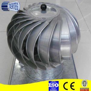 Whirligig ventilador de techo cubierta de acero inoxidable de chimenea.