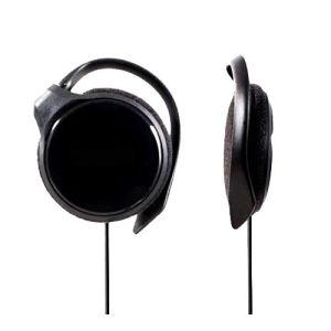 Slim negro Auriculares con clip para Panasonic