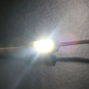Il caso di visualizzazione LED illumina 0.3W singolo LED