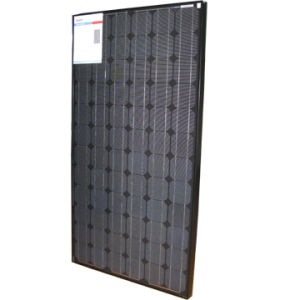 ロッテルダムの港(ネザーランド)の190W黒いモノラル太陽電池パネルのための販売促進