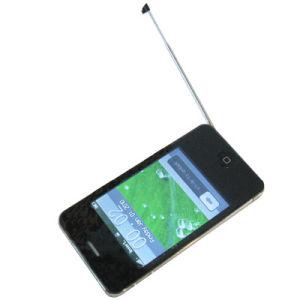 3.2 polegadas cartões SIM Dual quad band Dual Standby TV35 Telemóvel
