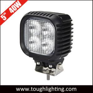 5 de alta potência à prova de IP67 40W LED CREE automática para tratores De Turck das Luzes de Trabalho