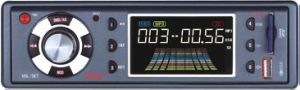 Giocatore di MP3 dell'automobile con la deviazione standard del USB (T-738)
