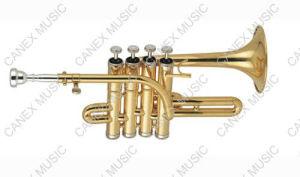 Trompette de petite flûte (GTR-100L)/trompette de piccolo instrument en laiton