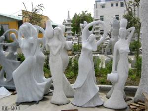 Handwork het Beeldhouwwerk van de Steen van het Graniet, Snijdend Standbeeld (CSSCU)