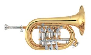 Cornet de clef de Bb de cornet de soupape rotative/cornet