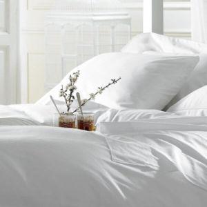 Comercio al por mayor de 5 estrellas 80 cama de algodón egipcio de satén Hospital/Ropa de Hotel