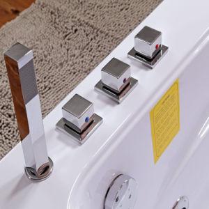 Bañera de masaje rectángulo con radio FM-679 (TLP)