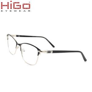 2018 Les nouveaux arrivants de la mode du châssis en acier inoxydable de gros de lunettes