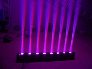 LED軽い8X10W 4in1 RGBW DJは移動ヘッドライトを発する