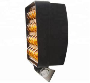 48W 10-30V de Vierkante LEIDENE Drijf Lichte IP67 2880lm Gele Lichte Lichte Staaf van het Werk voor de Boot van de Tractor van de Vrachtwagen van de Weg 4WD 4X4