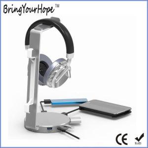 Diseño único concentrador USB 3.0 multifunción con auriculares (XH-HUB-012)