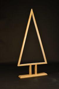 El Color Natural de bambú de forma triangular tabla grande Mobiliario e Iluminación lámpara LED/Iluminación LED Lámpara / Decoración ///bombilla LED/Trípode/.
