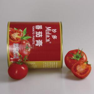 inserimento di pomodoro inscatolato 3kg del condimento della salsa di immersione del ketchup del purè del pomodoro