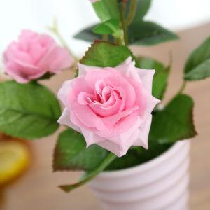 Красивый бонсай подарок искусственные цветы цветы из шелка растений