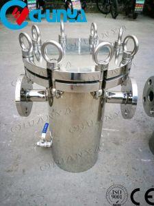 Cesto de aço inoxidável para o Alojamento do Filtro do tipo do sistema de águas residuais
