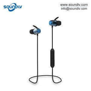 ハンズフリー磁気無線BluetoothのスポーツのステレオEarbudsを実行する携帯用ベスト