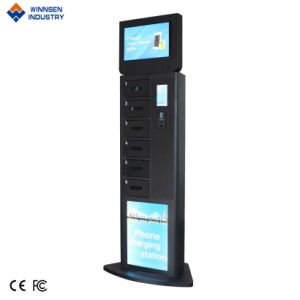 Kartenleser-Zahlungs-Handelsenergien-Bank-Handy-Ladestation