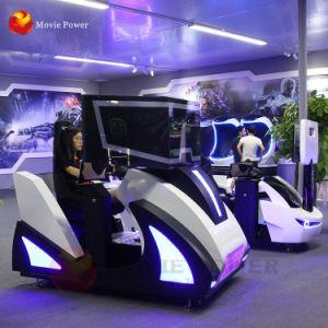 Crazy 9D em movimento da máquina de jogos de corridas de arcada simulador de condução de automóvel