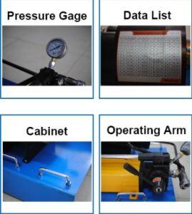 Manuale portatile macchina di piegatura del tubo flessibile idraulico da 1 pollice
