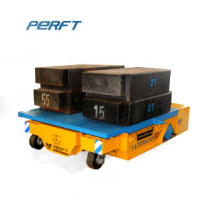 Топливораспределительной рампы с электроприводом платформы тележки металлические передвижного блока выгрузки изделий