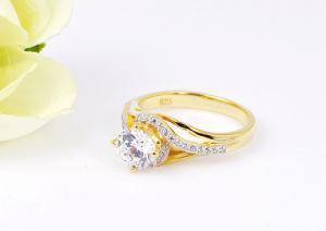 Последней стиле 925 украшения леди мода кольцо