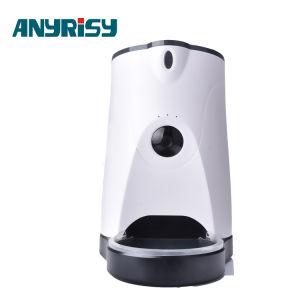 Пульт дистанционного управления приложений голосовой Интерком собака чашу с 4L загрузочного бункера