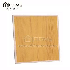 603mm*603mm de fibra mineral acústico MGO azulejos de techo