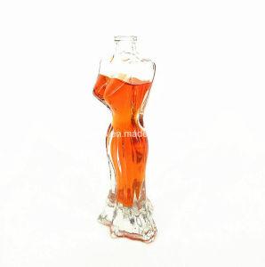 De mens Gevormde Fles van het Glas van het Parfum