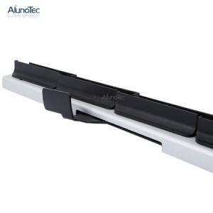 Большой рамы с жалюзи белого дерева Blade алюминиевая рама окна