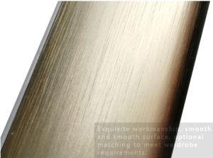 中心の形の適正価格のハードウェアのアクセサリのワードローブの流行のアルミ合金の管または管のためのカラーのB23変化