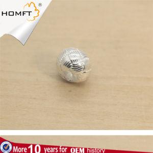 S925 parelt de Zilveren 10mm Grote Keperstof van het Gat Levering voor doorverkoop van de Toebehoren van de Toebehoren van de Juwelen DIY van de Parels van Parels de Met de hand gemaakte Zilveren