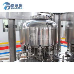 Flacon carré automatique de haute qualité de l'eau potable purifiée Machine de remplissage