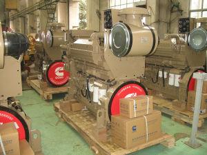 448kw 물 Cummins 냉각 바다 추진력 디젤 엔진 Kta19-M600